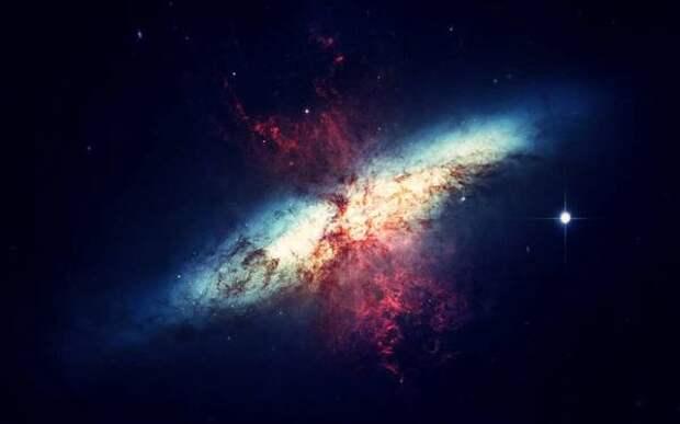 Массивные звезды формируются не из пылевого диска, а из бесформенного облака