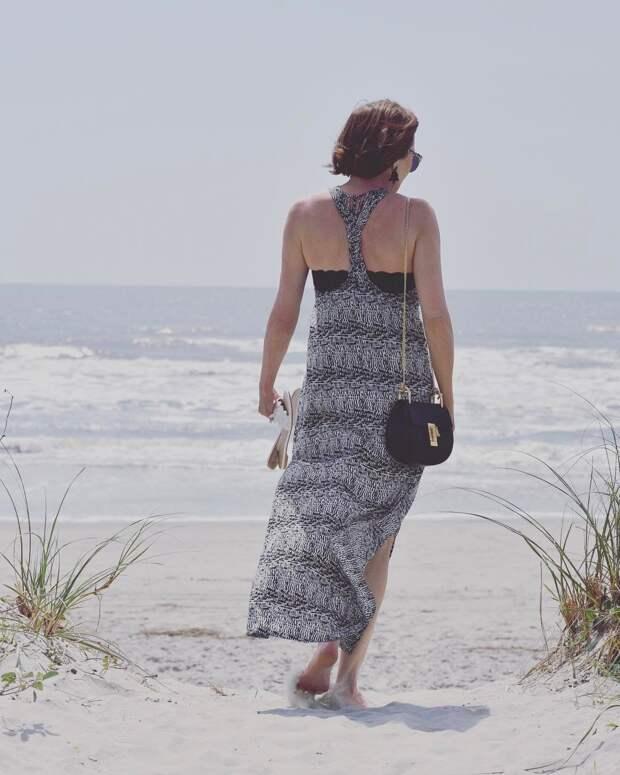 пляжные платья и туники для женщин после 40-50 лет фото 7