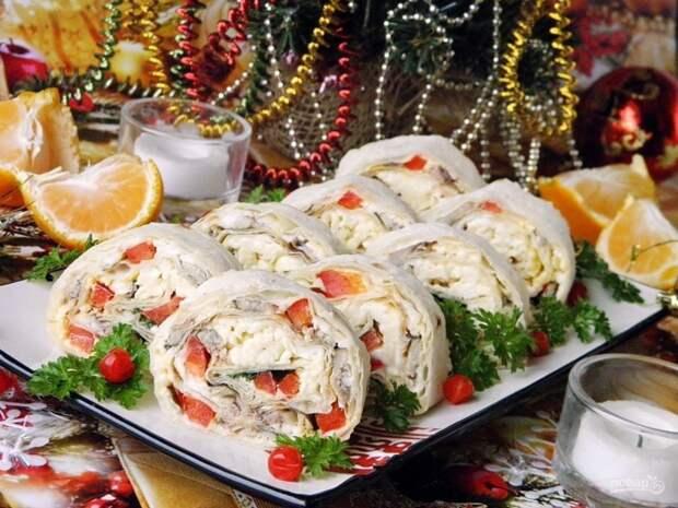 10 отличных закусок для новогоднего стола