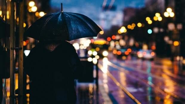 Дождливая неделя прогнозируется в Москве и области