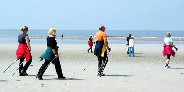 Скандинавская ходьба – средство против деменции.