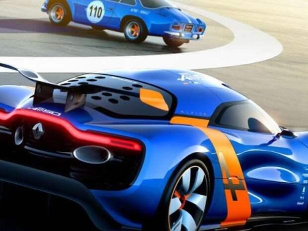 Спорткар Renault Alpine выйдет в продажу в 2017 году