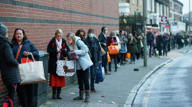 Британия: очереди за бесплатной едой всё длиннее