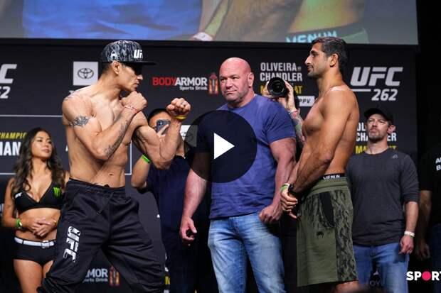 Битва взглядов Тони Фергюсона и Бенэила Дариуша перед UFC 262