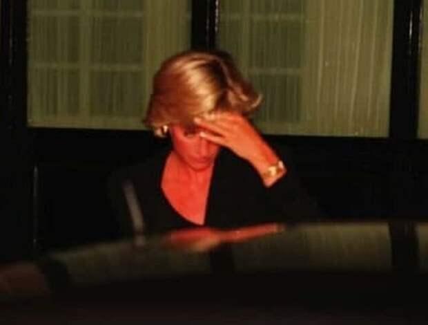 Последнее фото принцессы Дианы, 1997 год.