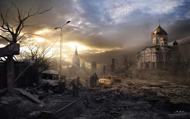 Жизнь после смерти: мир постапокалипсиса в картинах Sci-Fi художников