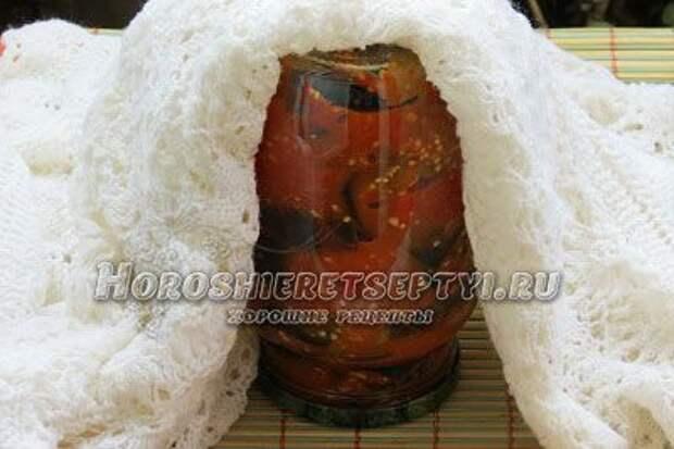 Баклажаны на зиму рецепт с фото