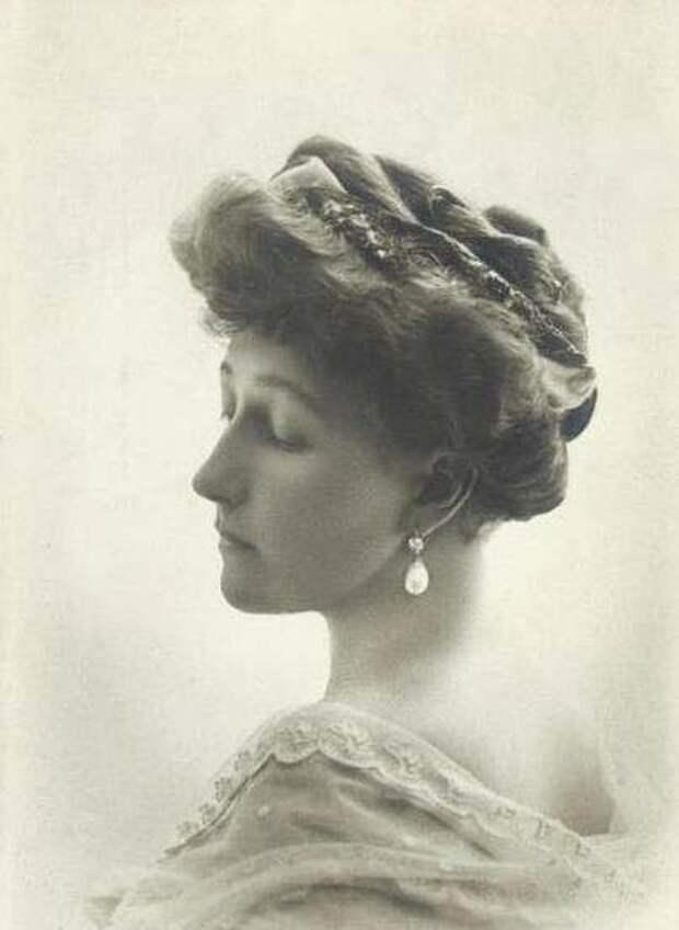 Принцесса Стефания Бельгийская, фото 1911 года.