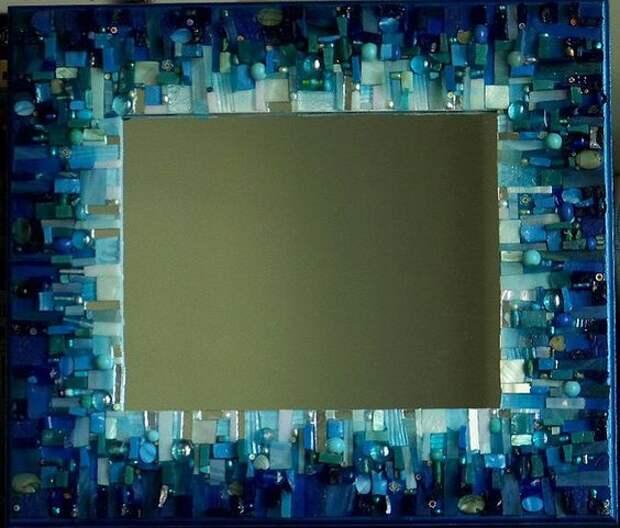 зеркало мозаика рама