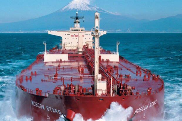 Танкер РФ экспорт в США