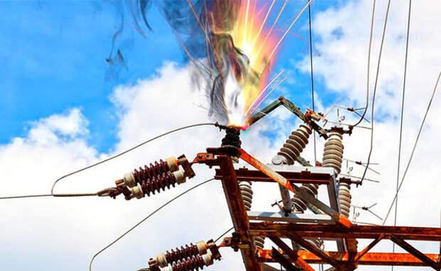 Поваленные ветром деревья повредили линии электропередач в Вологде
