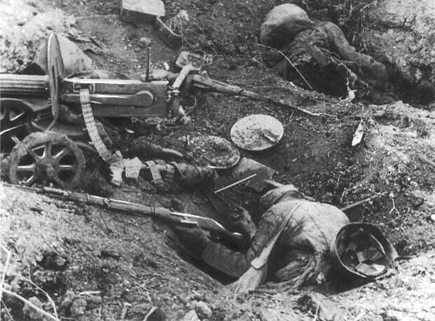 Здесь стояла насмерть 21 дивизия НКВД