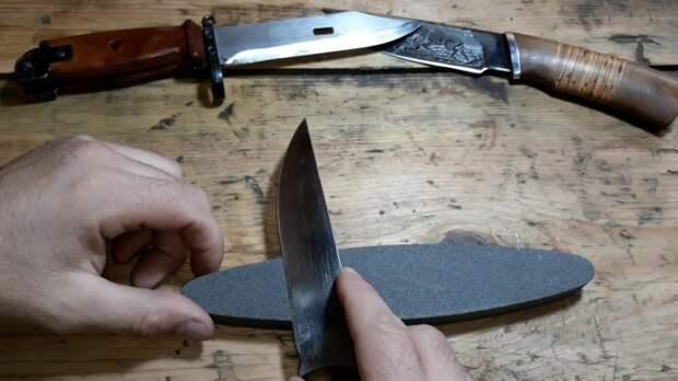 Нож должен легко точиться. |Фото: yandex.ru.