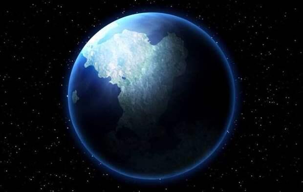 Солнечный ветер из центра Земли