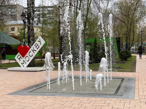 Фото дня: фонтан в Бабушкинском парке