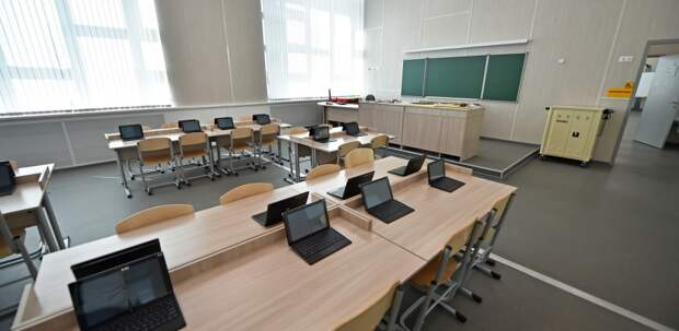В районе Рязанский появится школа на 550 мест с IT-полигоном
