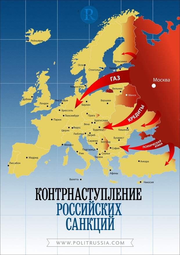 2015 — время для контрнаступления российских санкций