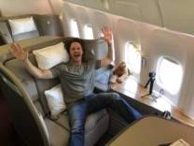 Лайфхак - Новый способ бесплатно получить место в бизнес-классе самолета
