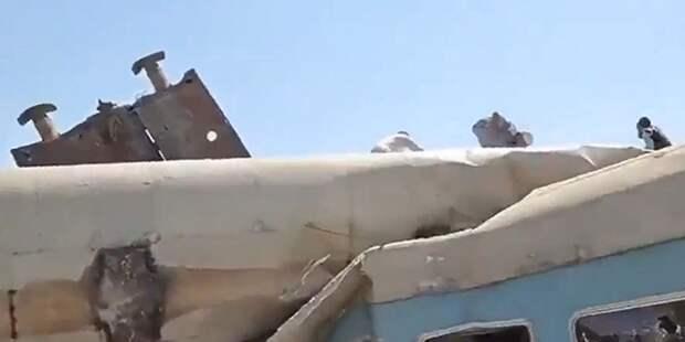 В Египте столкнулись поезда: есть жертвы