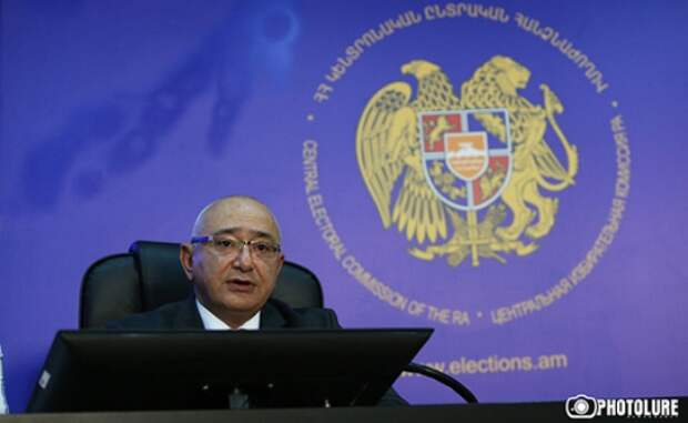 ЦИК Армении огласил график проведения досрочных парламентских выборов