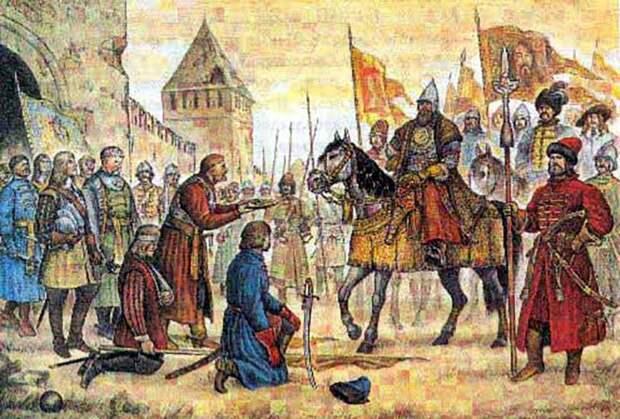 3 октября 1654 года капитулировал польский гарнизон Смоленска, осажденного армией Московского царства под командованием царя Алексея Михайловича в июне 1654 года.