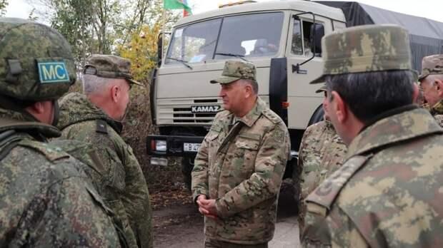 Российские миротворцы обеспечили доставку более 3 тысяч тонн грузов в Кельбаджарский район