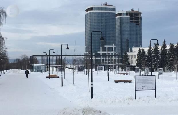Глава Ижевска рассказал, почему при реконструкции Центральной площади пропустили мост над улицей Карла Маркса