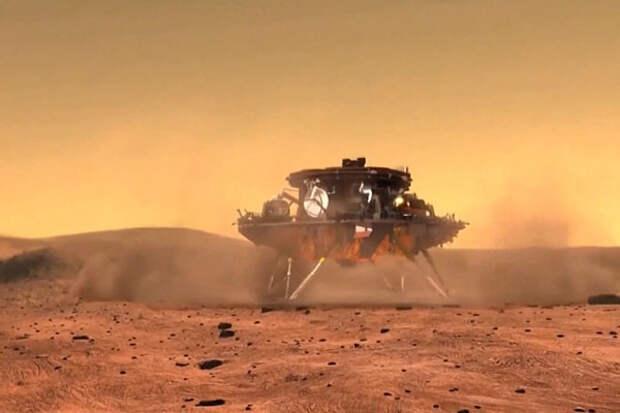 НАСА поздравило Китай с успешной посадкой «Тяньвэнь-1» на Марс