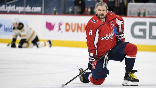 Овечкин наконец-то вернулся! Упустил шанс догнать легенду НХЛ, но размялся перед плей-офф и победил «Бостон»