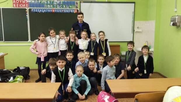 Спасатели провели открытые уроки в школах