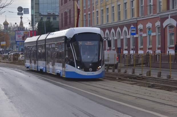 Маршрут трамвая, курсирующего от Таллинской до «Сокола», временно изменился