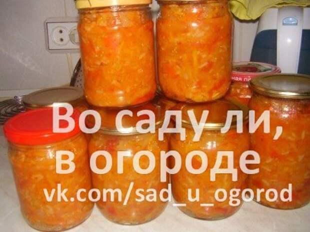 Салат с рисом »Сытая зима»