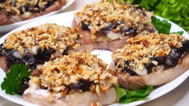 Мясо в праздничной шубе Мясо, Мясо в духовке, Рецепт, Видео рецепт, Видео