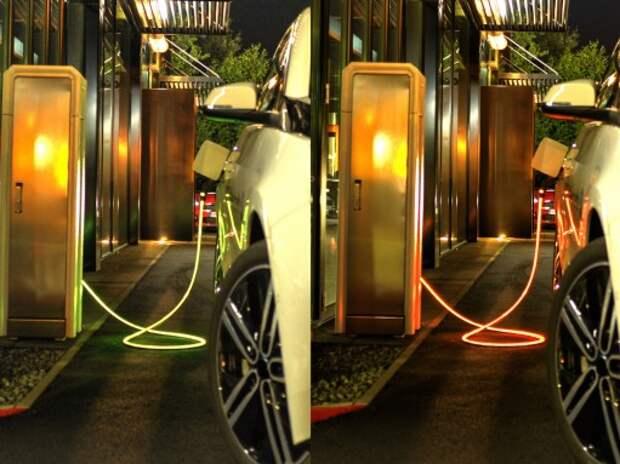 Выпущен кабель, подсвечивающий статус зарядки электромобилей