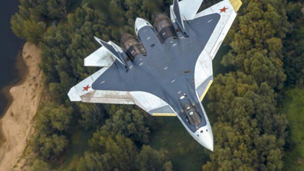 Экспортная версия истребителя Су-57 будет двухместной...