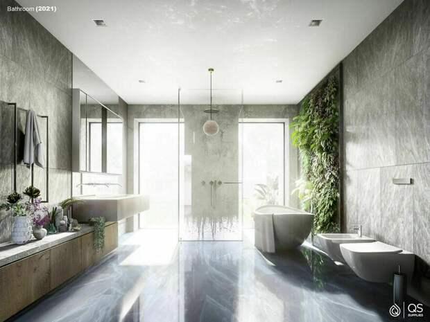 От деревянной бочки до акрила: шесть столетий ванной комнаты