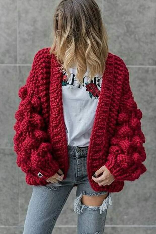 Вязаный свитер 2018-2019: в поисках вдохновения