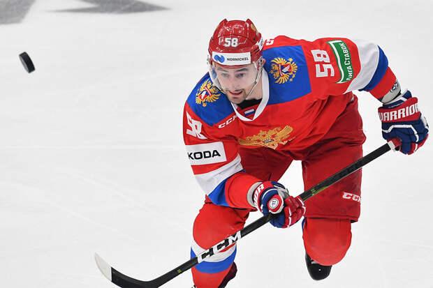 Антон Слепышев станет капитаном сборной России на чемпионате мира в Латвии
