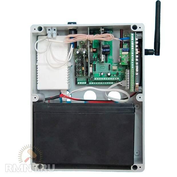GSM-модуль для управления поливом в теплице