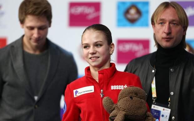 «Мне комфортно с Плющенко». Трусова рассказала, что не собирается возвращаться к Тутберидзе