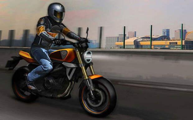 Harley-Davidson выпустит 40-сильную кроху