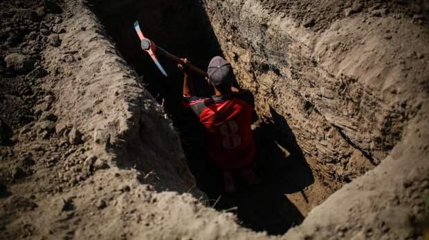 Петербург может принять следующий чемпионат по скоростному копанию могил