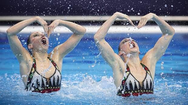 Синхронистки Ромашина и Колесниченко победили в произвольной программе, завое...