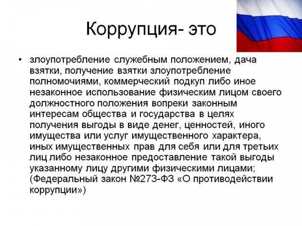 Кто и как в России борется с коррупцией