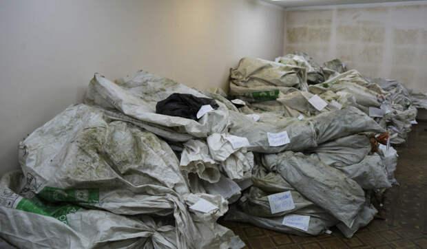 Целый «Камаз» наркотиков сожгли в Симферополе