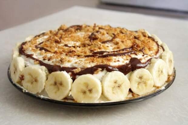 Торт за 10 минут без выпечки, который готовится всего из 3-х ингредиентов