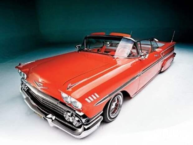 lrmp_1003_02_o 1958_chevrolet_impala_convertible front_left