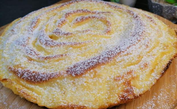 Пирог из двух яблок: обходимся без масла, но все равно получается сочно