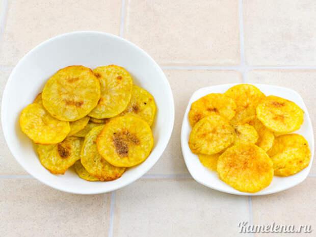 Картофельные чипсы — 5 шаг