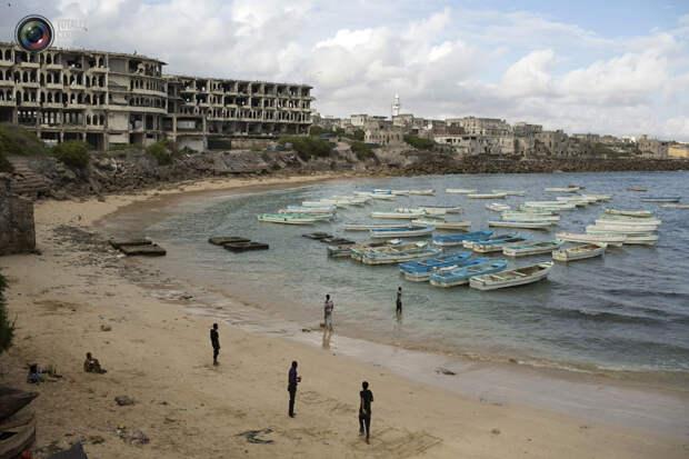 Пляж в Могадишо